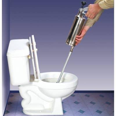 Пневматическая прочистка канализации